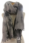 Eileen Fisher Felted Wool Shadows Scarf - Moon - SOLD OUT