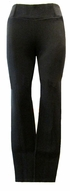 Eileen Fisher Heavyweight Rayon Knit Skinny Pant - Black