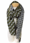 Eileen Fisher Merino Cashmere Plaid - Tourmaline - SOLD OUT