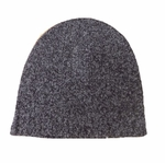 Eileen Fisher Merino Cashmere Slouchy Hat - Charcoal