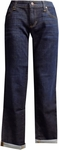 Eileen Fisher Organic Cotton Stretch Denim Boyfriend Jean - Deep Indigo - SOLD OUT
