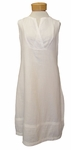 Eileen Fisher Round Neck Knee Length Dress - White
