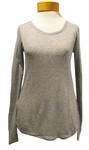 Eileen Fisher Superfine Tencel Cashmere Roundneck - Ash
