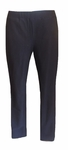 Eileen Fisher Washable Stretch Crepe Tapered Slim Ankle Pant - Black