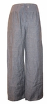 Eileen Fisher Washed Linen Delave Wide Leg Pant - Denim - SOLD OUT