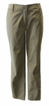 Eileen Fisher Washed Organic Cotton Tencel Twill Tapered Ankle Pant - Olive