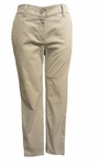 Eileen Fisher Washed Organic Cotton Tencel Twill Tapered Ankle Pant - Silver