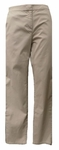 Eileen Fisher Washed Organic Cotton Tencel Twill Slim Ankle Pant - Pebble