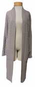 Margaret O'Leary Erin Cable Cardigan - Mist