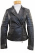Margaret O'Leary Leather Moto Jacket