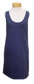 Prairie Underground Soft Tank Dress - Blue Suede
