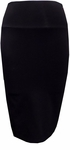 Velvet Treva Stretch Skirt - Black