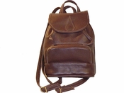 Leather Backpack American Made # 524<br>
