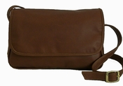 Leather Handbag  American Made #507 Medium Brown