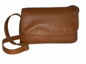 Leather Handbag  American Made #507 Tan
