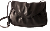 Leather Handbag  Made in USA #405 Black