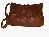 Leather Handbag Made in USA #405 Light  Brown