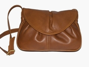 Leather Handbag Made in USA #405 Tan