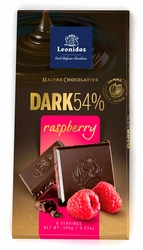 Leonidas Dark 54% Raspberry Pack (6 x 100g)