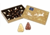 Gold Gift Box with Leonidas Christmas Tree Pralines