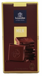 Leonidas Milk Chocolate Bars (4 x 100g)