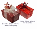 Thanksgiving & Holiday Subscription- 2 Deliveries (1lb each)