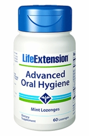 ADVANCED ORAL HYGIENE - Life Extension - 60 Mint Lozenges