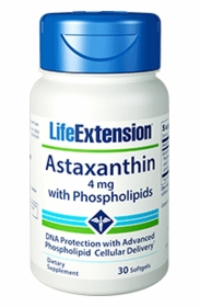 ASTAXANTHIN with PHOSPHOLIPIDS - Life Extension - TwinPak (60 Softgels)