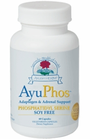 AyuPhos (comparable to Seriphos) From Non-GMO Sunflower Seeds - 60 VegiCaps