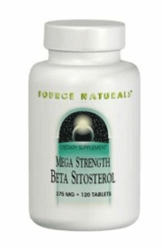 BETA SITOSTEROL - Mega Strength Phytosterol Complex for Prostate & Cholesterol - Source Naturals