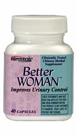 BETTER WOMAN - For Better Urinary Control - Life Extension