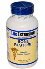 Bone Restore - Highly Absorbable Calcium with FruiteX B OsteoBoron - Twin Pak
