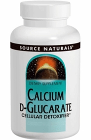 CALCIUM D-GLUCARATE - Cellular Detoxifier by Source Naturals