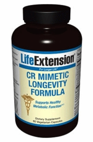 CALORIE RESTRICTION MIMETIC LONGEVITY FORMULA - Life Extension 60 Vegetarian Caps