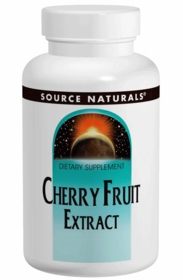 CHERRY FRUIT EXTRACT (500mg) - Source Naturals - 180 Tabs