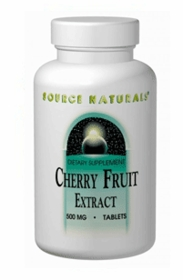 CHERRY FRUIT EXTRACT - Source Naturals - For Gout and Joint Pain