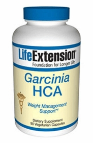 GARCINIA HCA - Life Extension - 90 Vegetarian Caps (500mg)