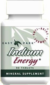 INDIUM ENERGY TABS - Mineral for Immune and Hormones 90 Tabs - Free Shipping in the U.S.