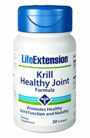 KRILL HEALTHY JOINT FORMULA - Life Extension - 30 Softgels