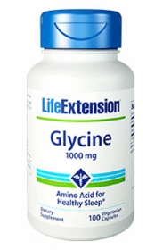 GLYCINE CAPS - For Insomnia and Gastric Ulcers (1000mg) - TwinPak