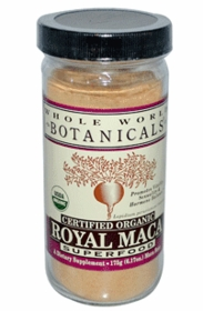 MACA - ROYAL MACA POWDER - 175 Grams - Certified Organic - For Hormone Balance, Thyroid and Energy