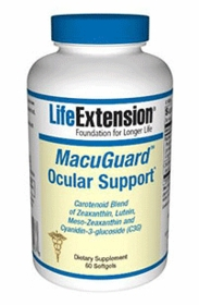 MACUGUARD OCULAR SUPPORT - Life Extension - 60 Softgels