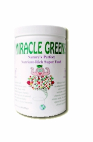 MIRACLE (MIGHTY) GREENS - Mighty Greens Superfood Blend