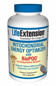 MITOCHONDRIAL ENERGY OPTIMIZER WITH BioPQQ - Life Extension - 120 Caps