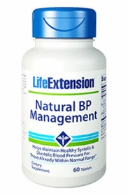 NATURAL BP MANAGEMENT - Life Extension - 60 Tablets
