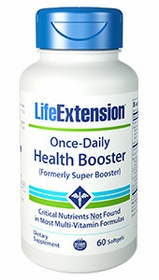 ONCE-DAILY HEALTH BOOSTER - Formerly Super Booster - Life Extension 60 Softgels