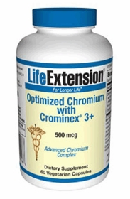 OPTIMIZED CHROMIUM WITH CROMINEX 3+ - Life Extension