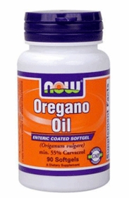 OREGANO OIL - NOW Foods - 90 Enteric Coated Softgels (181.0 mg)