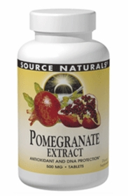 POMEGRANATE EXTRACT (500mg) - Source Naturals 240 Tabs