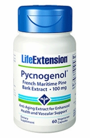 PYCNOGENOL French Maritime Pine Bark Extract - Life Extension